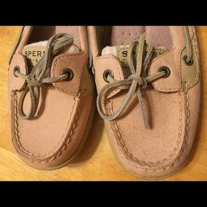 Women's Sperry Topsider, 9M, Pale Pink